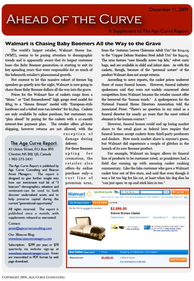 Newsletter Supplement