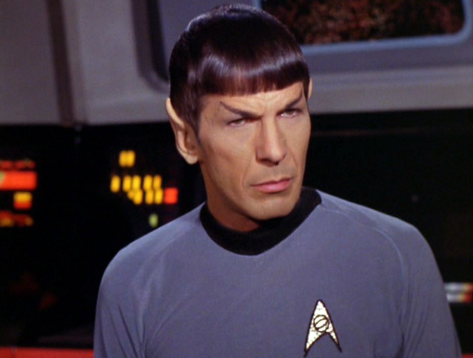 Be Like Mr. Spock and Hash It Out With Logic inMind