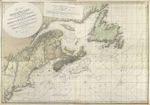 Cape Cod to Nova Scotia Chart